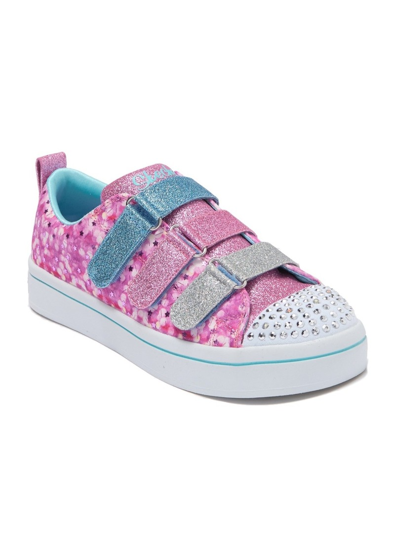 Skechers Twinkle Lites Confetti Glam Sneaker (Toddler, Little Kid & Big Kid)