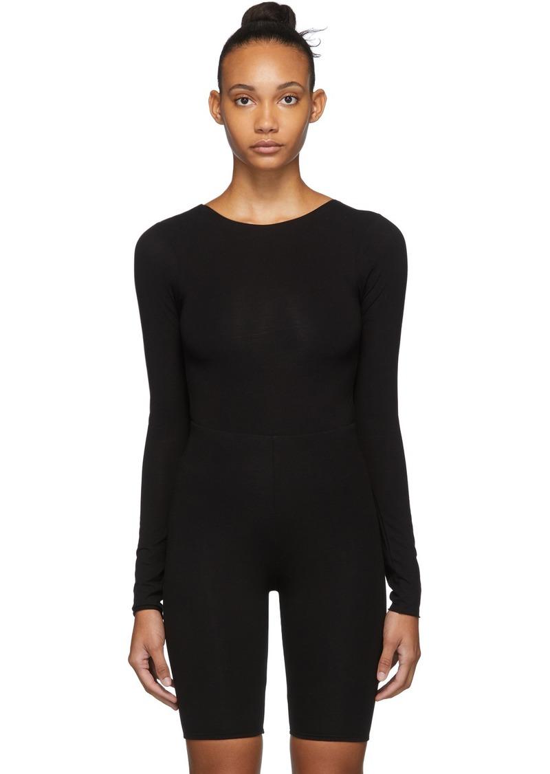 skin Black Olwyn Bodysuit