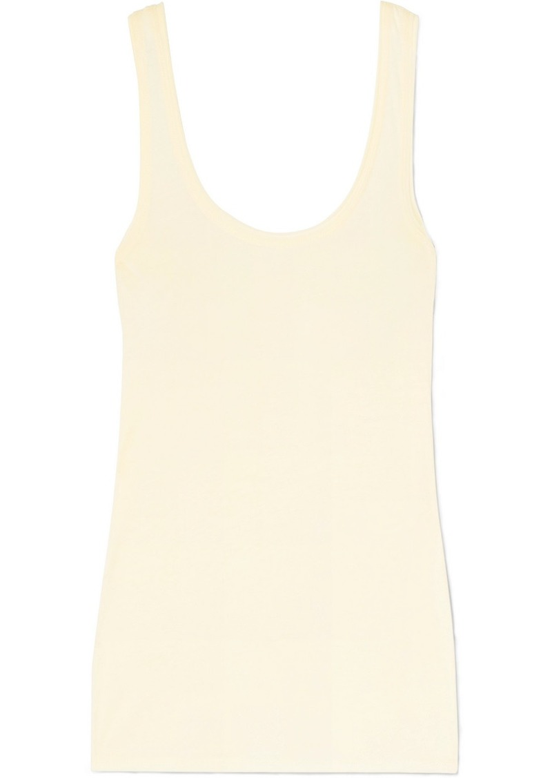 skin Cara Organic Pima Cotton-jersey Tank