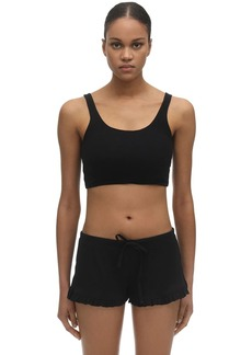 skin Clio Organic Pima Cotton Crop Top