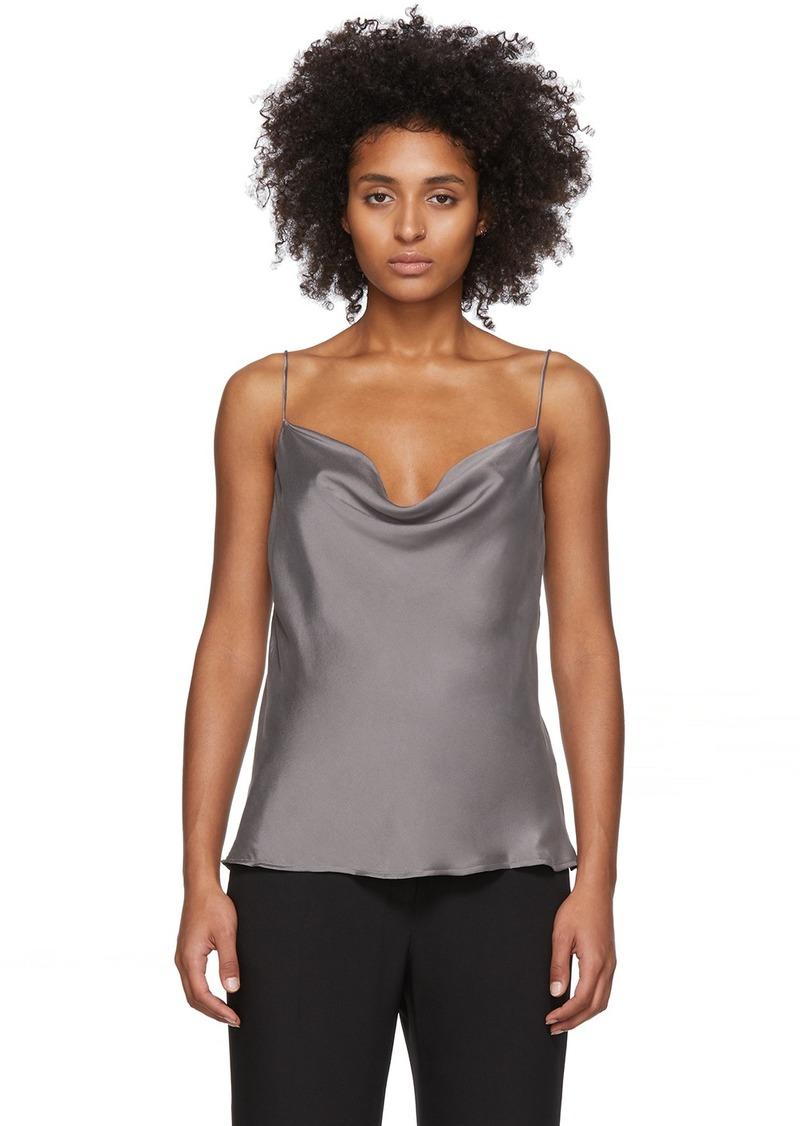 skin Grey Silk Tara Camisole