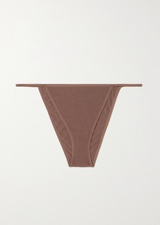 skin Net Sustain Galila Stretch Organic Pima Cotton-jersey Briefs