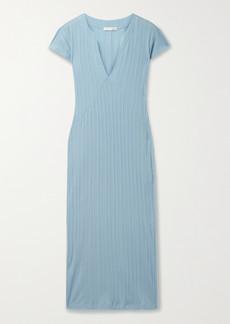 skin Net Sustain Rabia Ribbed Organic Pima Cotton-jersey Nightdress