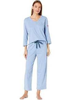 "skin Organic Cotton Blend ""Heart on Your Sleeve"" Pajama Set"