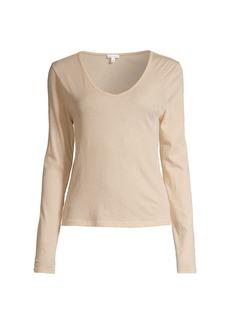 skin Organic Cotton V-Neck Shirt