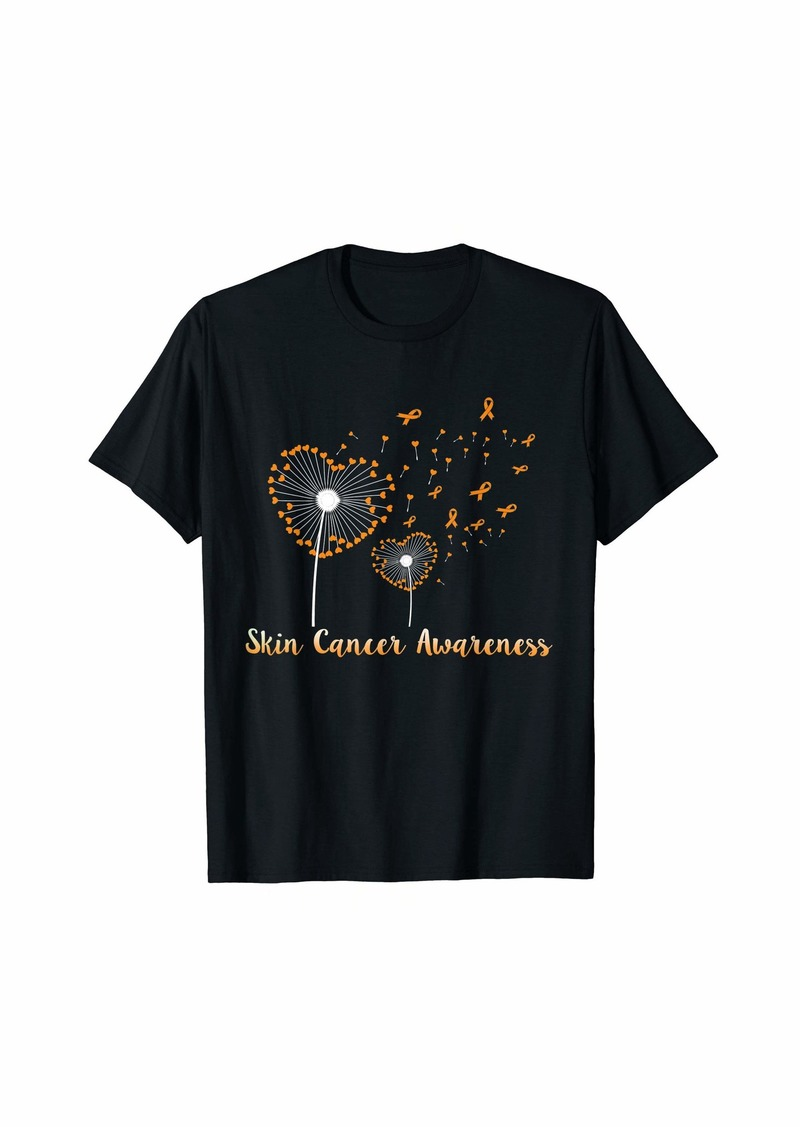 Skin Cancer Awareness Dandelion T-Shirt