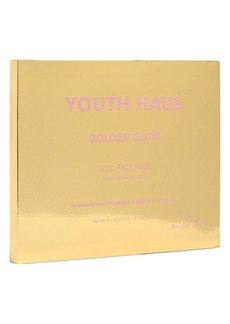 Skin Gym 5-Pack Youth Haus Golden Glow Face Mask