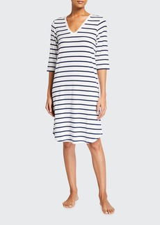 Skin Mirielle Striped Jersey Dress