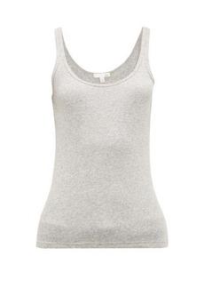 Skin Raisa ribbed cotton-jersey tank top