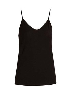 Skin Scoop-neck pima-cotton cami top