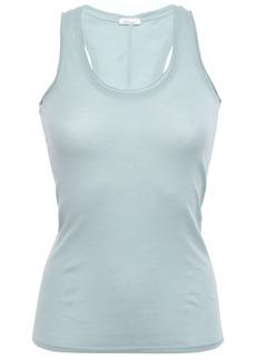 Skin Woman Pima Cotton-jersey Tank Sky Blue