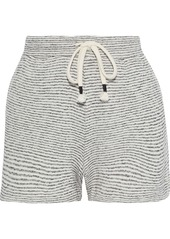 Skin Woman Teegan Striped Cotton And Modal-blend Pajama Shorts Cream