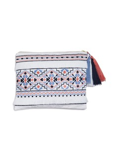 Sky Azteca Embroidered Pouch- 100% Exclusive