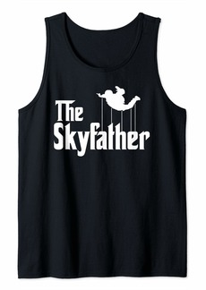 Sky Diving Dad Father Day Gift for Sky Diving  Tank Top