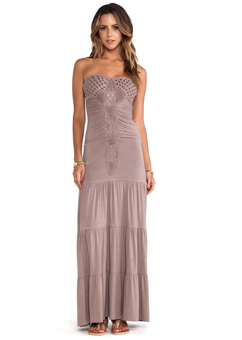 sky Lapis Maxi Dress