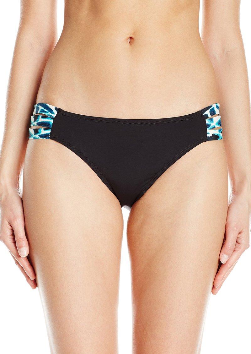Skye Women's Blue Bay Bikini Bottom