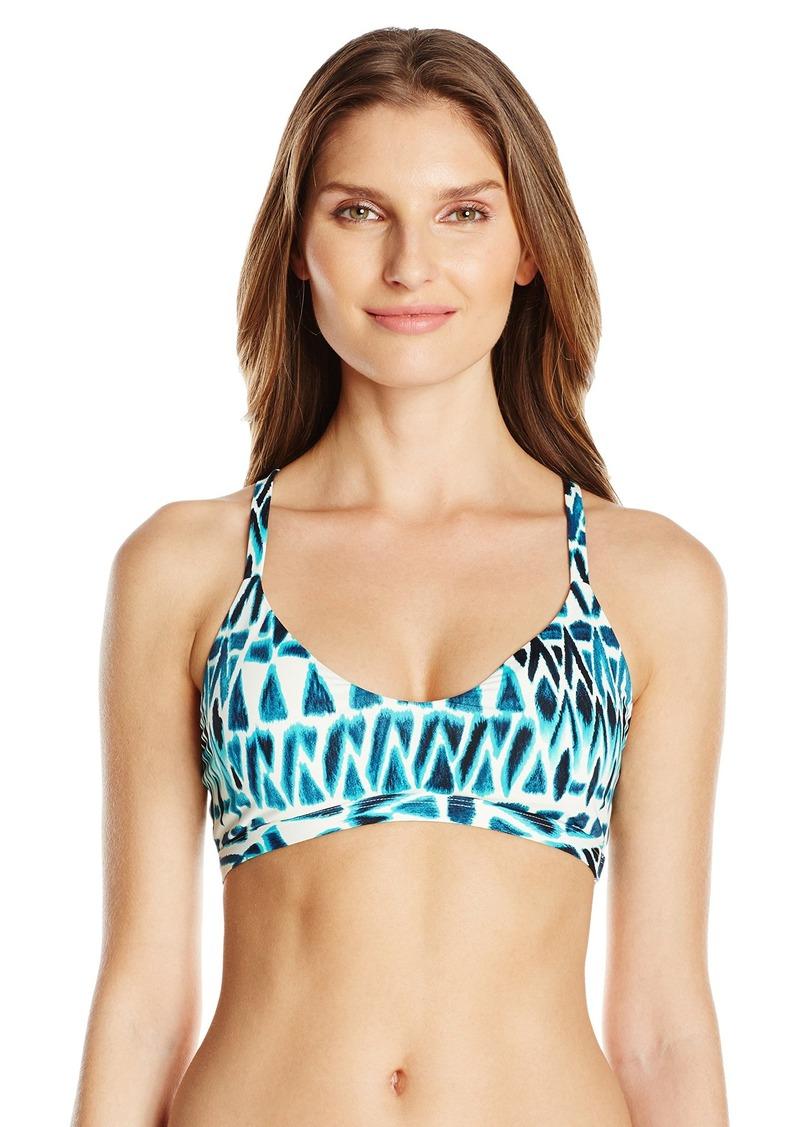 Skye Women's Blue Bay Katie Halter Bikini Top
