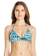 Skye Women's Blue Bay Marissa Halter Bikini Top