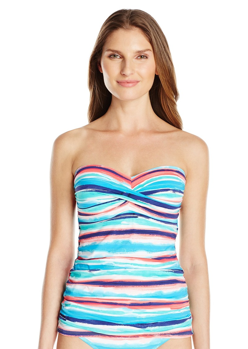 Skye Women's by the Sea Molded Cup Bandeau Tankini
