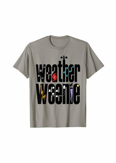 Sky Weather Weenie T-shirt for Weather Geeks