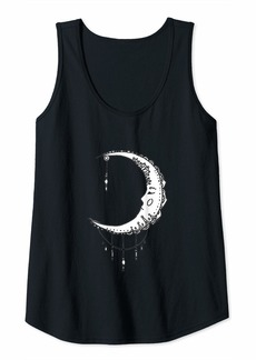 Sky Womens Sleeping Moon Tank Top