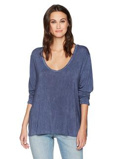 SLINK Jeans Women's Crossed V LS TOP Plus Size