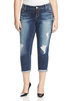 SLINK Jeans Women's Plus Size  Boyfriend W