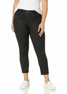 SLINK Jeans Women's Plus Size Coated HIWAIST Skinny