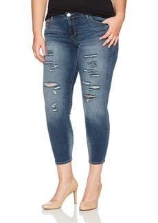 SLINK Jeans Women's Plus Size Danika Ankle Jean  W