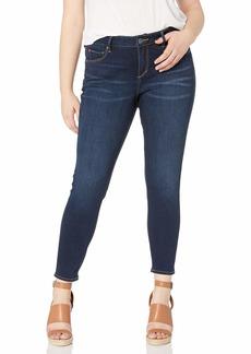 SLINK Jeans Women's Plus Size  Skinny Ankle w