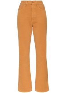SLVRLAKE cropped straight leg jeans