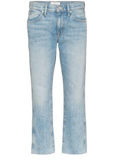 SLVRLAKE Harper cropped straight-leg jeans