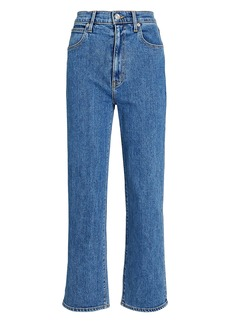 SLVRLAKE London Cropped High-Rise Jeans