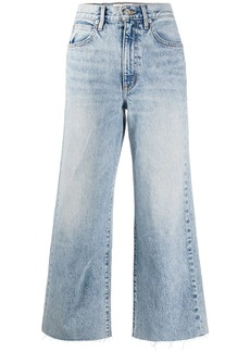 SLVRLAKE mid rise cropped jeans