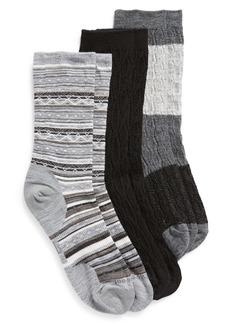 Smartwool Assorted 3-Pack Socks