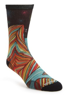 Smartwool Curated Rainbow Mountain Climb Crew Socks