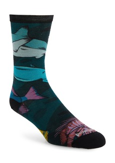Smartwool Curated Something's Fishy Crew Socks