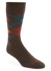 Smartwool Diamond Jim Argyle Wool Blend Socks