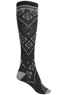 SmartWool Lingering Lace Knee-High Socks - Merino Wool Blend, Over the Calf (For Women)