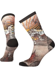 Smartwool Men's Curated Monkey Lounge Crew Sock