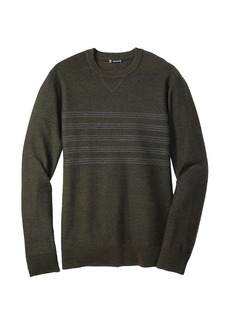 Smartwool Men's Kiva Ridge Reverse Jersey Stripe Crew Top