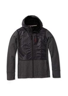 Smartwool Men's Merino Sport Fleece Full Zip Hybrid Hoodie