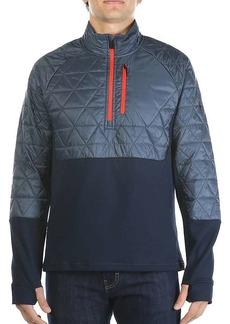 Smartwool Men's Propulsion 60 Hybrid Half Zip Jacket