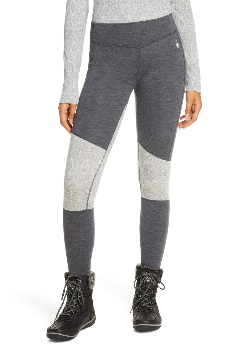 Smartwool Merino 250 Base Layer Asymmetrical Colorblock Bottoms