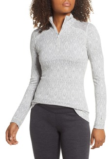 Smartwool Merino 250 Patterned Base Layer Quarter Zip Top