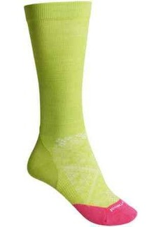 SmartWool PhD Run Graduated Compression Ultralight Socks - Merino Wool, Over the Calf (For Women)