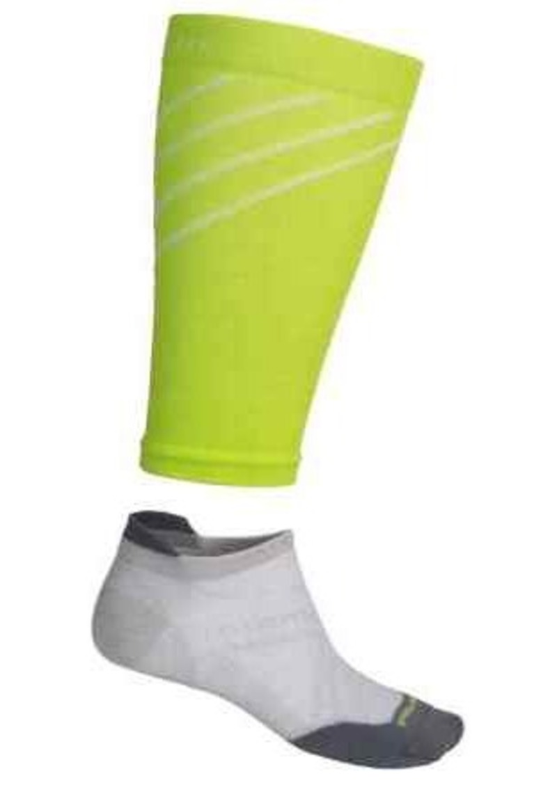 SmartWool PhD Run Ultralight Socks and Compression Calf Sleeves - Merino Wool, Ankle (For Men and Women)