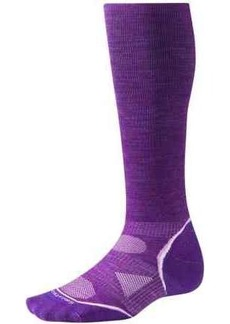 SmartWool PhD V2 Graduated Compression Socks - Merino Wool, Over the Calf (For Men and Women)