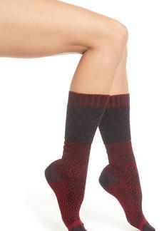 Smartwool Snowflake Flurry Merino Wool Blend Socks