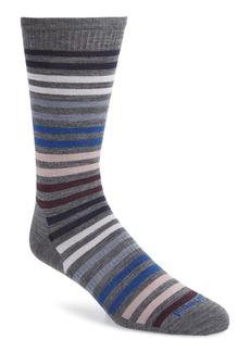 Smartwool 'Spruce Street' Stripe Merino Wool Blend Socks